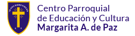 Centro Parroquial de Educación y Cultura Margarita A. de Paz Logo